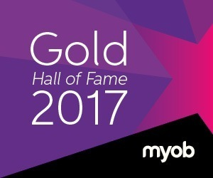MYOB Gold Award Winner 2017