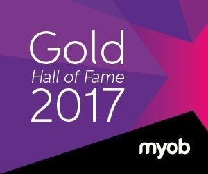 MYOB Gold Award Winner 2017